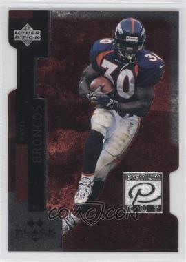 1997 Upper Deck Black Diamond Premium Cut Double Diamond #PC30 - Terrell Davis
