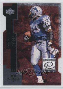 1997 Upper Deck Black Diamond Premium Cut Double Diamond #PC5 - Barry Sanders