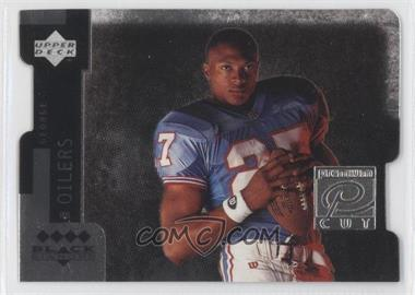 1997 Upper Deck Black Diamond Premium Cut Quadruple Diamond Horizontal #PC10 - Eddie George