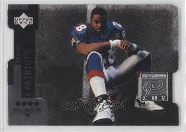 1997 Upper Deck Black Diamond Premium Cut Quadruple Diamond Horizontal #PC18 - Curtis Martin