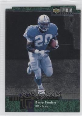 1997 Upper Deck Collector's Choice - Turf Champions #TC85 - Barry Sanders