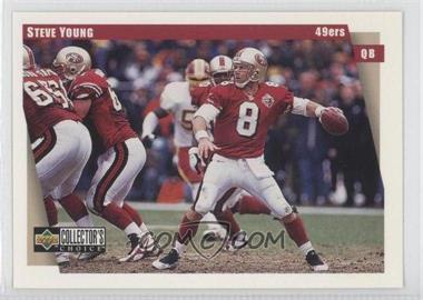 1997 Upper Deck Collector's Choice San Francisco 49ers #SF11 - Steve Young