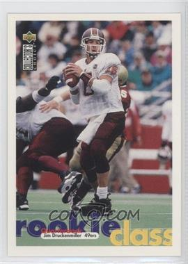 1997 Upper Deck Collector's Choice San Francisco 49ers #SF9 - Jim Druckenmiller