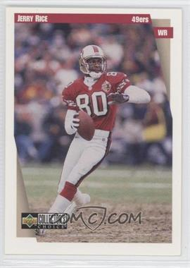 1997 Upper Deck Collector's Choice San Francisco 49ers #SF91 - Jerry Rice