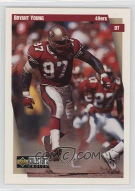 1997 Upper Deck Collector's Choice Team Sets - San Francisco 49ers #SF8 - Bryant Young