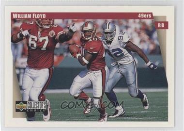1997 Upper Deck Collector's Choice Team Sets San Francisco 49ers #SF10 - William Floyd