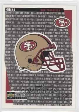 1997 Upper Deck Collector's Choice Team Sets San Francisco 49ers #SF14 - San Francisco 49ers Team