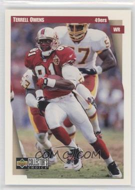 1997 Upper Deck Collector's Choice Team Sets San Francisco 49ers #SF3 - Terrell Owens