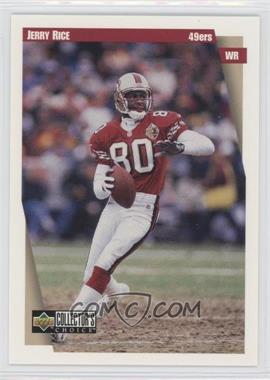 1997 Upper Deck Collector's Choice Team Sets San Francisco 49ers #SF6 - Jerry Rice