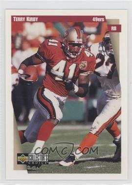 1997 Upper Deck Collector's Choice Team Sets San Francisco 49ers #SF7 - Todd Kinchen