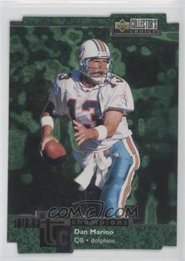 1997 Upper Deck Collector's Choice Turf Champions #TC62 - Dan Marino