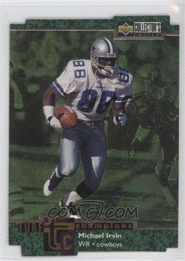 1997 Upper Deck Collector's Choice Turf Champions #TC63 - Michael Irvin