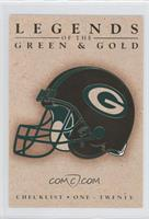 Checklist (Green Bay Packers Helmet)