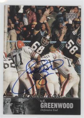 1997 Upper Deck NFL Legends - Autographs #AL-108 - L.C. Greenwood