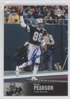 1997 Upper Deck NFL Legends - Autographs #AL-153 - Drew Pearson