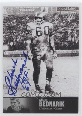 1997 Upper Deck NFL Legends - Autographs #AL-22 - Chuck Bednarik