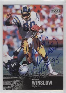 1997 Upper Deck NFL Legends - Autographs #AL-68 - Kellen Winslow