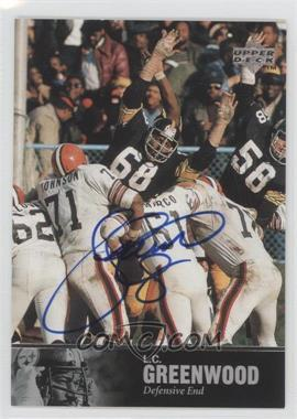 1997 Upper Deck NFL Legends Autographs #AL-108 - L.C. Greenwood