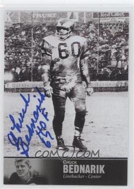 1997 Upper Deck NFL Legends Autographs #AL-22 - Chuck Bednarik