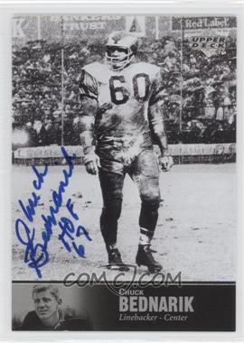 1997 Upper Deck NFL Legends Autographs #AL-22 - Chuck Bednarik