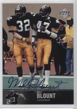 1997 Upper Deck NFL Legends Autographs #AL-25 - Mel Blount