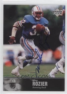 1997 Upper Deck NFL Legends Autographs #AL-36 - Mike Rozier
