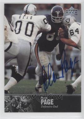 1997 Upper Deck NFL Legends Autographs #AL-58 - Alan Page