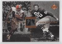 Chuck Bednarik, Jim Brown