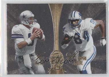 1998 Absolute Platinum Quads #4 - Troy Aikman, Herman Moore, Mark Chmura, Gus Frerotte