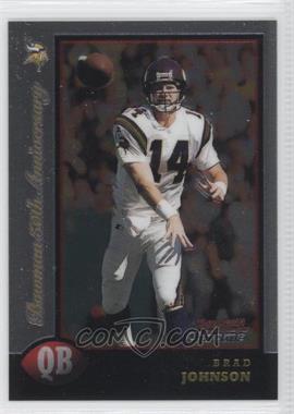 1998 Bowman Chrome Golden Anniversary #44 - Brad Johnson /50