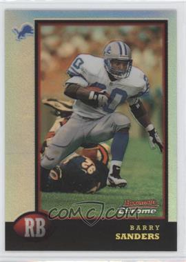 1998 Bowman Chrome Preview Refractor #BCP8 - Barry Sanders