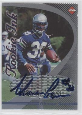 1998 Collector's Edge 1st Place Rookie Ink #N/A - Ahman Green