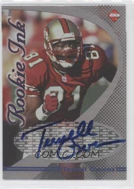 1998 Collector's Edge 1st Place Rookie Ink #N/A - Terrell Owens