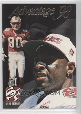 1998 Collector's Edge Advantage - [Base] - 50-Point #150 - Jerry Rice