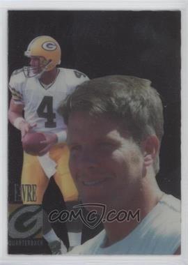 1998 Collector's Edge Advantage - [Base] - Gold #66 - Brett Favre