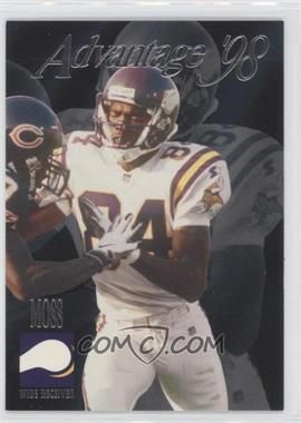 1998 Collector's Edge Advantage - [Base] - Silver #196 - Randy Moss