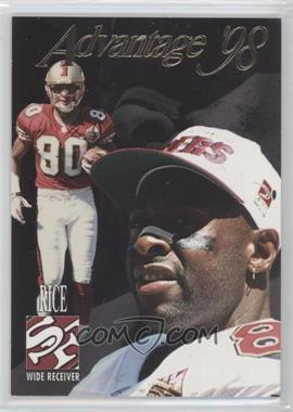1998 Collector's Edge Advantage Thick Stock #150 - Jerry Rice