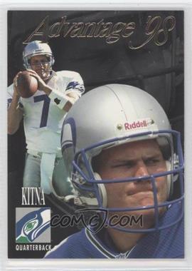 1998 Collector's Edge Advantage Thick Stock #155 - Jon Kitna