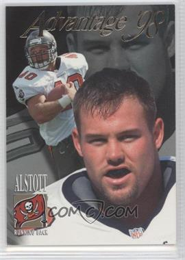 1998 Collector's Edge Advantage Thick Stock #164 - Mike Alstott