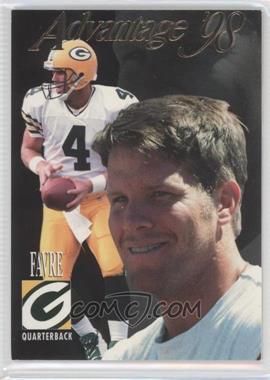 1998 Collector's Edge Advantage Thick Stock #66 - Brett Favre