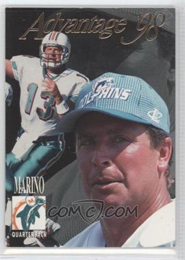 1998 Collector's Edge Advantage Thick Stock #90 - Dan Marino