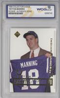 Peyton Manning (Holding jersey) [ENCASED]