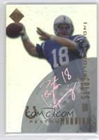 Peyton Manning (Facsimile Autograph, Non-Numbered)