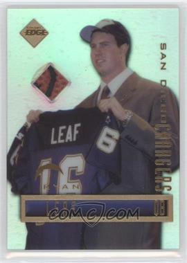 1998 Collector's Edge Promos #N/A - Ryan Leaf