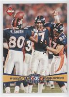Denver Broncos Team, John Elway