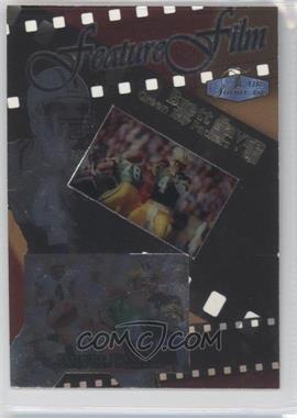 1998 Flair Showcase Feature Film #2 FF - Brett Favre