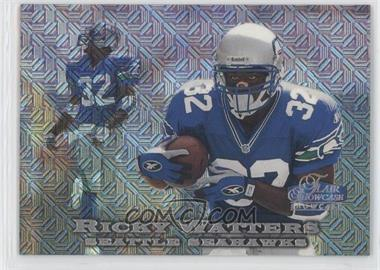 1998 Flair Showcase Row 0 #72 - Ricky Watters /2000