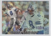 Troy Aikman, Charles Johnson (Aikman on Front, Johnson on Back) /2000