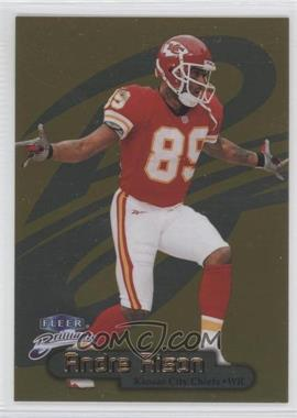 1998 Fleer Brilliants Gold #66G - Andre Rison /99