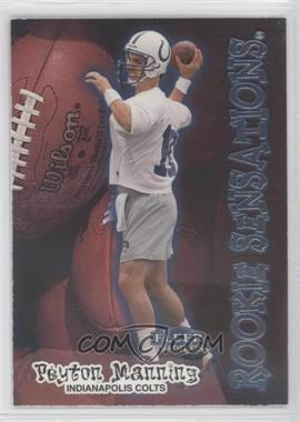 1998 Fleer Tradition Rookie Sensations #9RS - Peyton Manning